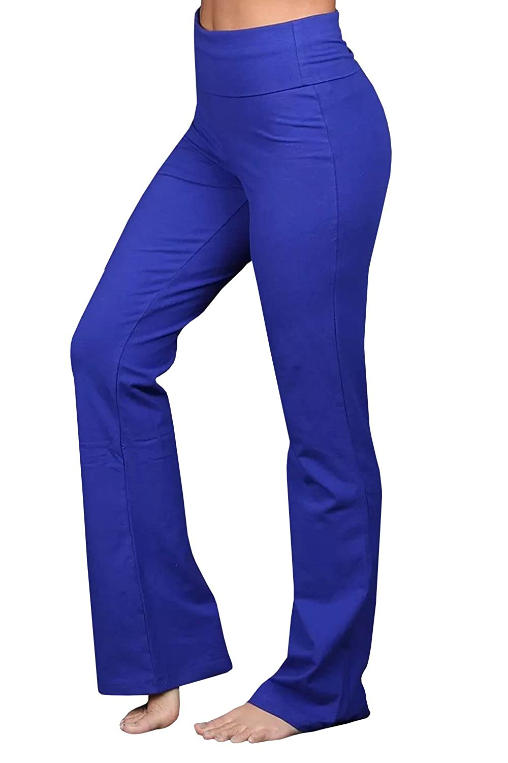8e4d0b319b093 ... to wear, with good stretch. Fabric is designed to contour perfectly to  your body, giving you a streamlined look. ✿ Features: Bootcut yoga pants,  ...
