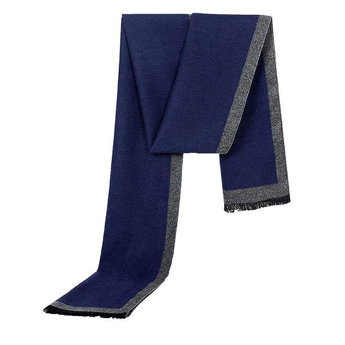 migliori scarpe da ginnastica 199b0 4b897 Sciarpa Nera Calda Da Sciarpa Uomo Elegante Invernale ...