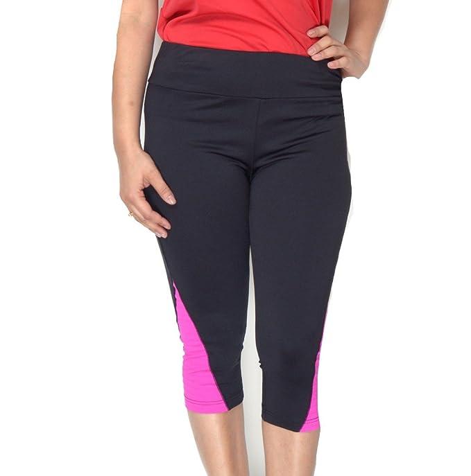 4834d802a1ae0 Amazon.com: Inc International Concepts Colorblocked Active Capri Leggings,  Size L: Clothing
