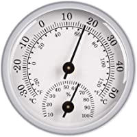 Perfk Mini Indoor Thermometer Hygrometer Temperature Humidity Monitor for Home, Room, Kitchen, Patio, Planting Room…