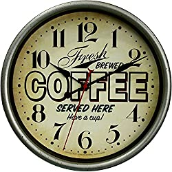 Mainstays Fresh Brewed Coffee Wall Clock