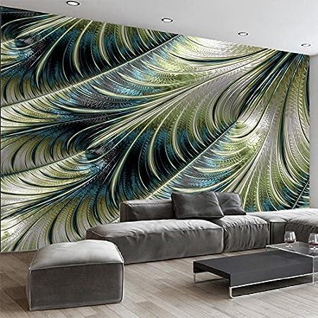sproudbz 3d wallpaper modern simple feather photo wall murals living