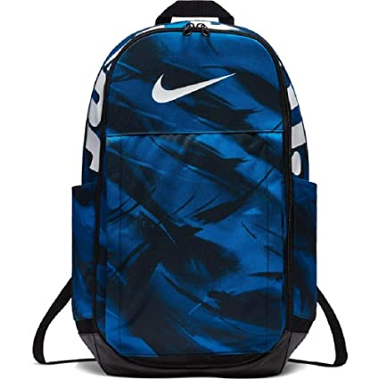 b4bed126fc6d Image Unavailable. Image not available for. Colour  Nike Brasilia XL Blue  Polyester Training Backpack