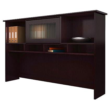 office desk armoire.  Desk Wooden Desk Hutch Espresso Oak Modern 6Tier Large Dorm Room Storage  Computer Writing Office In Armoire O
