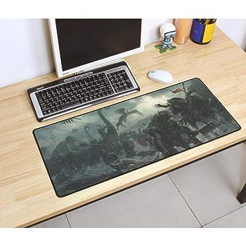 jasonding Alfombrilla De Ratón Clanes War For Pad Mouse Computador ...