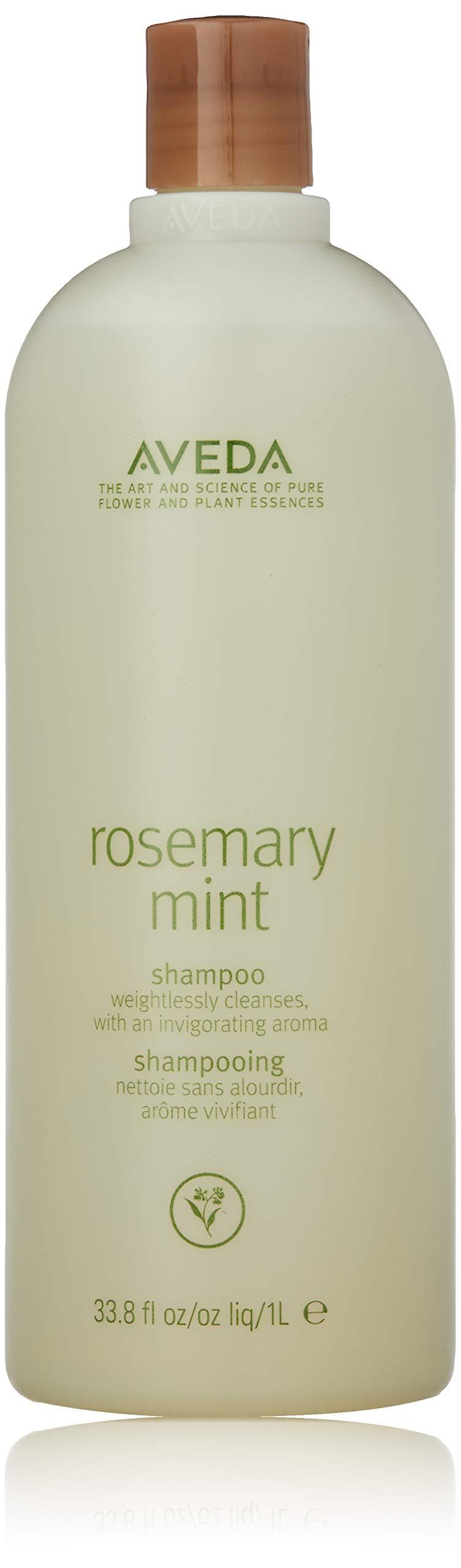 Aveda Shampoo Bottles, rosemary mint 33.8 Fl Oz
