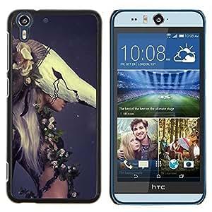 Stuss Case / Funda Carcasa protectora - Mujer de la manera Haut Couture - HTC Desire Eye M910x