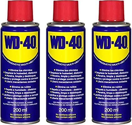 WD40 200 ML (200 ML Pack 3 unidades): Amazon.es: Bricolaje y ...