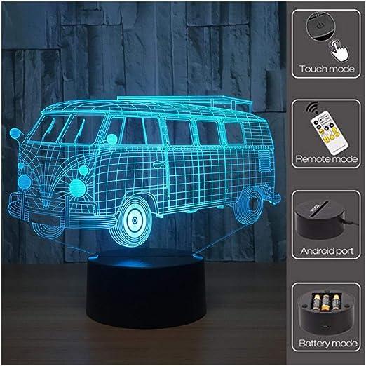 GMKJ proyector Luces Coloridas luz Nocturna Acrílico Decorativo ...