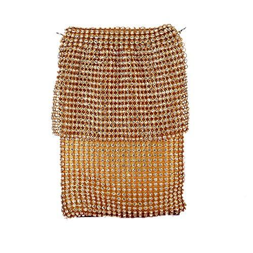 discotecas Shimmer mujeres Mini Bolsa Parte clubes para Bolso Noche Telfono de fiesta Gold de Prom de en nocturnos Nupcial embrague Bolso Las Celular Pequeo Glitter Lentejuelas HACxpwpq