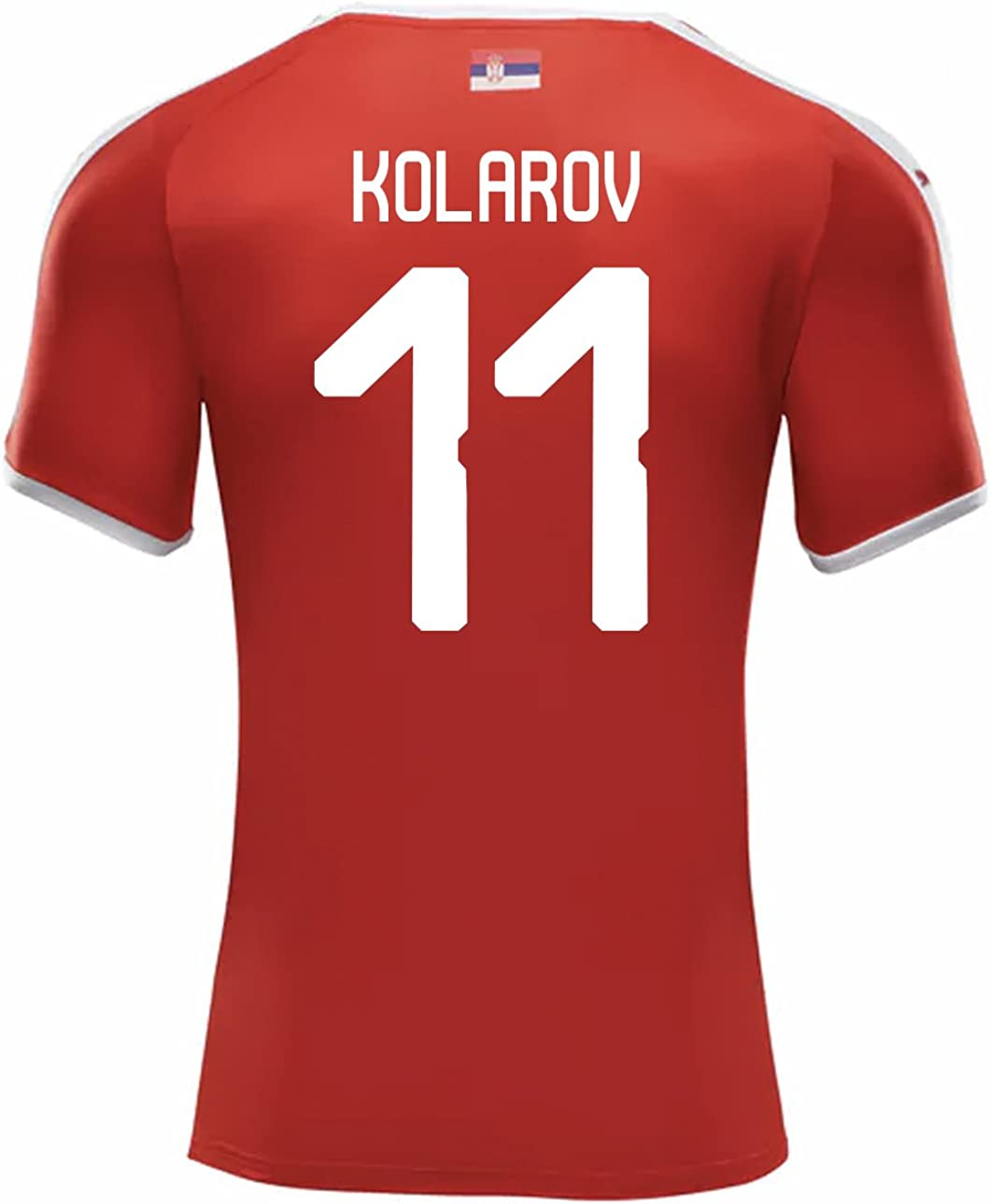 PUMA KOLAROV #11 Serbia Men's Home Jersey World Cup Russia 2018