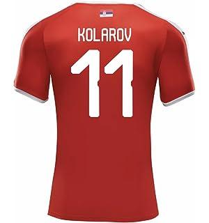 PUMA KOLAROV #11 Serbia Mens Home Jersey World Cup Russia 2018