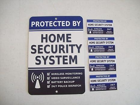 Amazon.com: Seguridad para el hogar sistema de alarma Yard ...