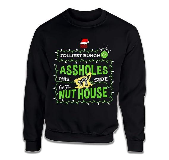 Amazoncom Teepinch Jolliest Bunch Of Assholes Ugly Christmas