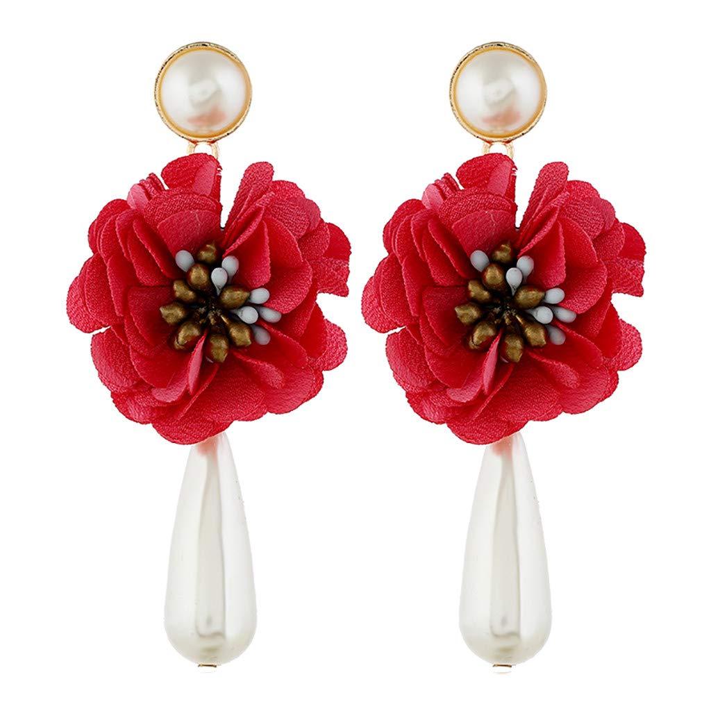 Peigen Earrings Drop Earrings Earrings Gift Jewelry Gift Wedding Party Bridal FringedFashion Simple European and American Earrings Wild Ladies Fashion Jewelry