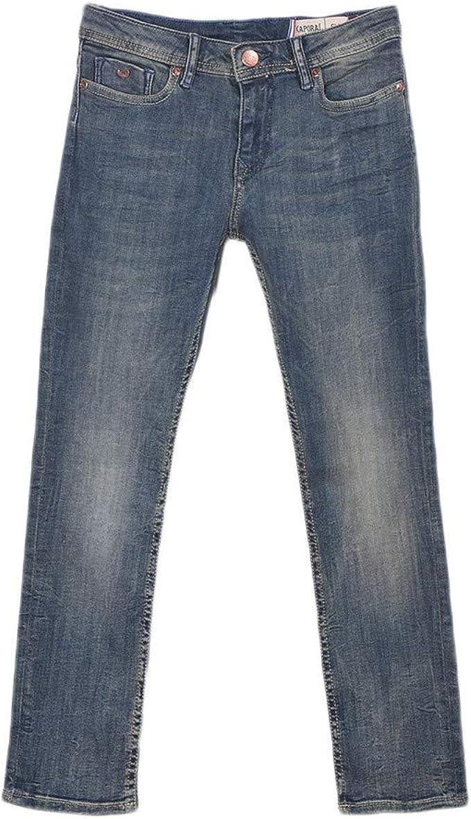 KAPORAL Jego Jeans Garçon, Bleu(grey Blue), 16 ans