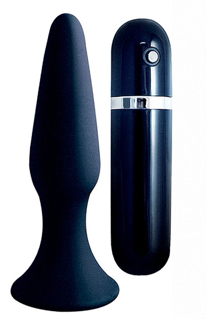 Amazon.com: My 1St silicona Surge Vibrating Buttplug – Negro ...