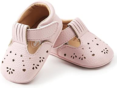 Toddler Shoes Breathable Princess Heart Hollow Non-slip Soft Prewalker For Baby