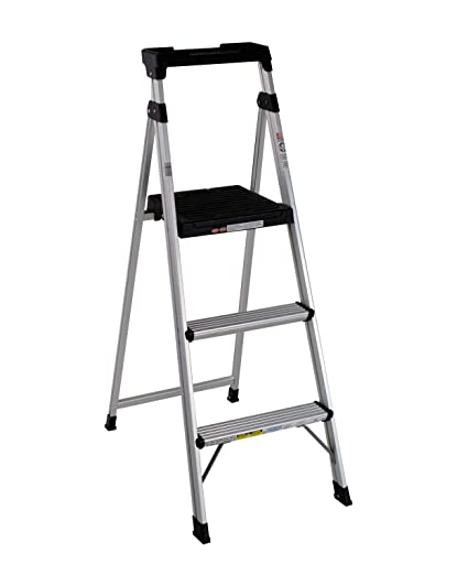Incredible Cosco Three Step 5 Lite Solutions Folding Step Ladder Cjindustries Chair Design For Home Cjindustriesco