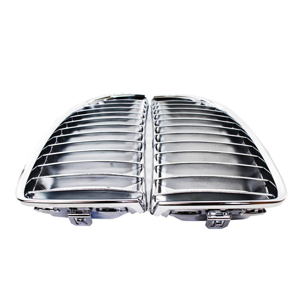 /08/m3/m version griglia nero brillante opaco nero carbonio placcatura Rene griglia anteriore griglia per E90/E91/serie 3/Black Rene griglie 05/