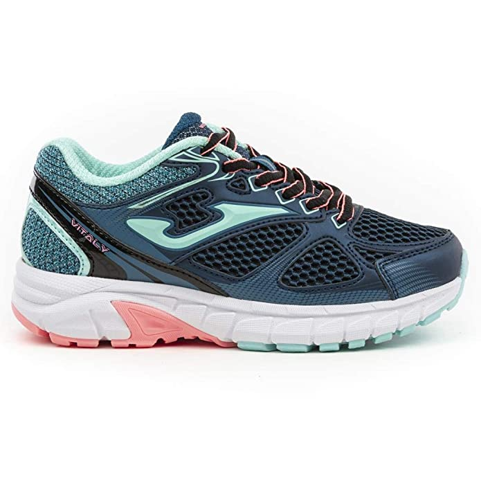 Zapatillas de tenis Joma Junior J_VITAW 937 azul marino-turquesa Fashion Scarpe Donna - J_VITAW_937_38, 38, NAVY-TURCHESE: Amazon.es: Deportes y aire libre