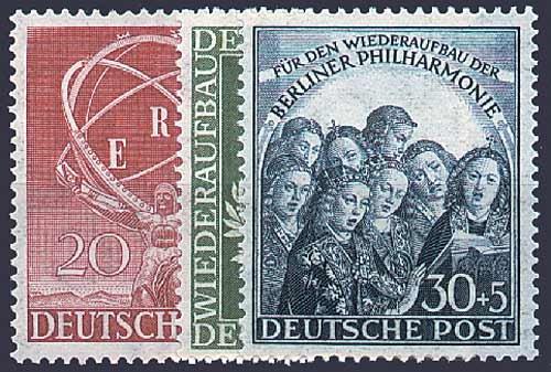 Goldhahn Berlin Berlin Goldhahn Postfrisch Jahrgang 1950 Komplett Nr