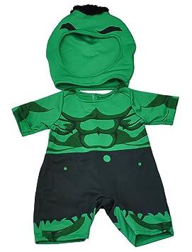 Verde casco gigante conjunto / teddy ropas para 15 ...