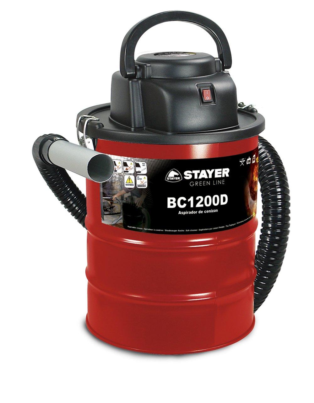 Stayer Bc 1200 D - Aspiratore Per Ceneri, Verde 1200D