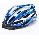 Casque Vélo Cyclisme Sport Ultraléger 54-62cm avec Visière Amovible Perméable Homme/Femme Route Moule Solidaire Sécurisé VTT/VTC de YGJT