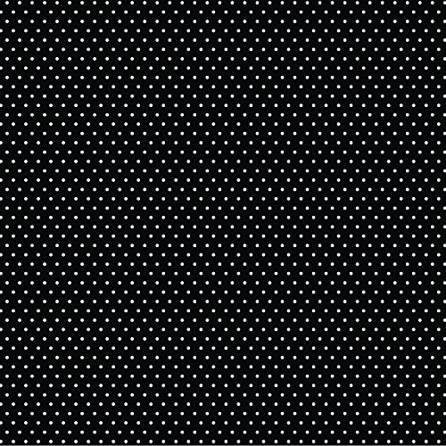 American Crafts Core'dinations 12 Pack of 12 x 12 Inch Patterned Paper Black Small Dot, ()