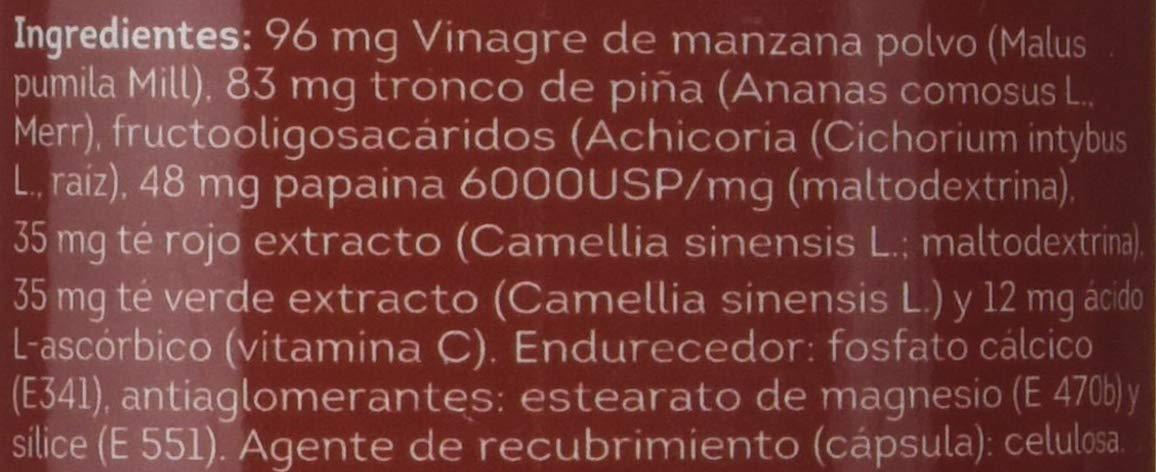 Sotya Health Supplements, Vinagre Plus, 100 Cápsulas, 55 g: Amazon.es: Salud y cuidado personal