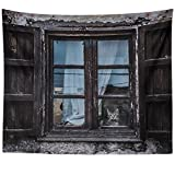 Westlake Art - Frame Facade - Wall Hanging Tapestry - Picture Photography Artwork Home Decor Living Room - 68x80 Inch (94FE-C1103)