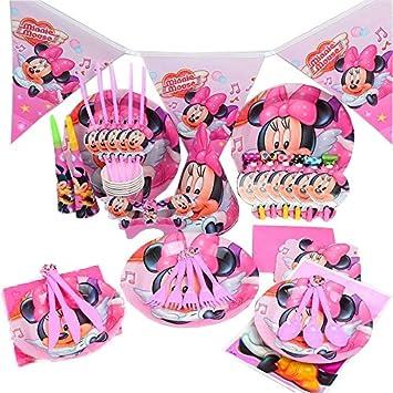 Disney S Minnie Maus Geburtstag Hochzeit Party Dekoration Geschirr