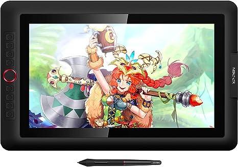 """XP-PEN Artist 15.6 Pro Tableta Gráfica Dibujo, 15.6"""" HD IPS Pantalla Gráfica Digital con Función de Inclinación, 8 Teclas Personalizables y 1 Dial Roja, Aplicación de Dibujo Gratuita como Artrage 5: Amazon.es: Informática"""
