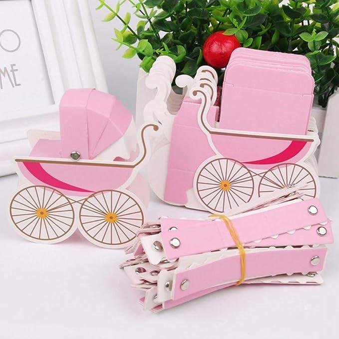 20PCS Caja de Dulces Cajas Carrito de Bebé Coche de Regalo del Caramelo de la Ducha de Bebé para boda cumpleaños fiesta bebé bautizos regalo bombones ...