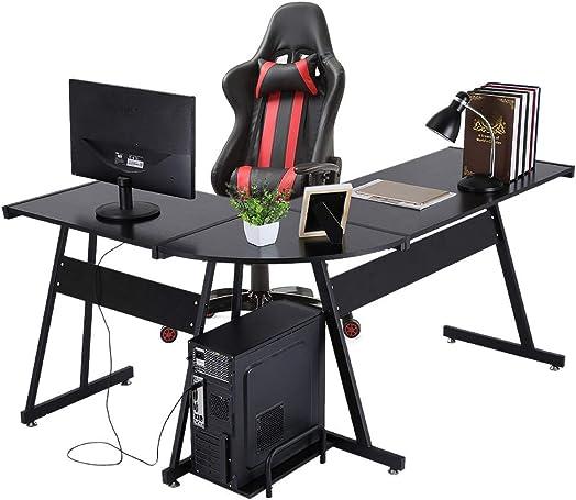 Reviewed: Modern L-Shaped Computer Office Desk