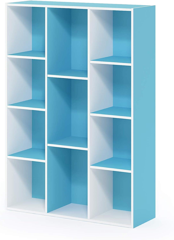 Furinno Libreria 105.918 x 23.876 x 73.914 cm