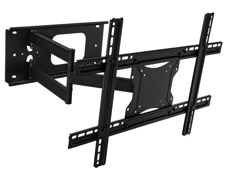 "Mount-It! Full Motion Articulating TV Wall Mount Bracket 32-70"" Plasma, LED, LCD Flat Screens up to 100 pounds 600x400 VESA, Tilt, Swivel, Extend, Compress"