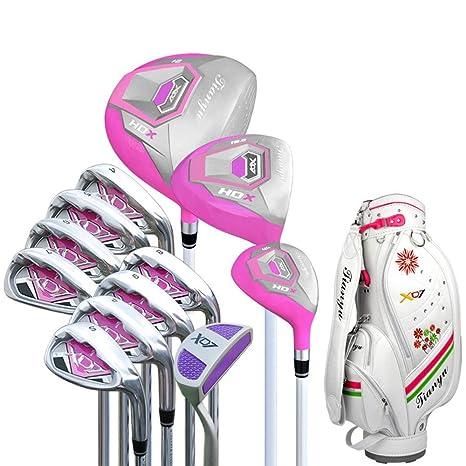 Cvbndfe Mujeres Golf Principiante Juego de Club de Golf de ...