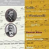 The Romantic Piano Concerto Vol.52: Goetz, Wieniawski
