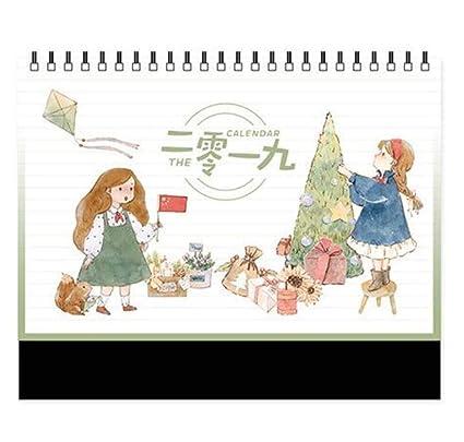 Calendario de la naturaleza de 2019 Calendario de la empresa ...