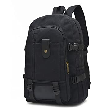 2f5b3dd37218 Image Unavailable. Image not available for. Color  Backpacks Canvas High  Capacity Travel Bag Vintage Laptop Backpack Student Fashion Designer  Teenage Girls ...
