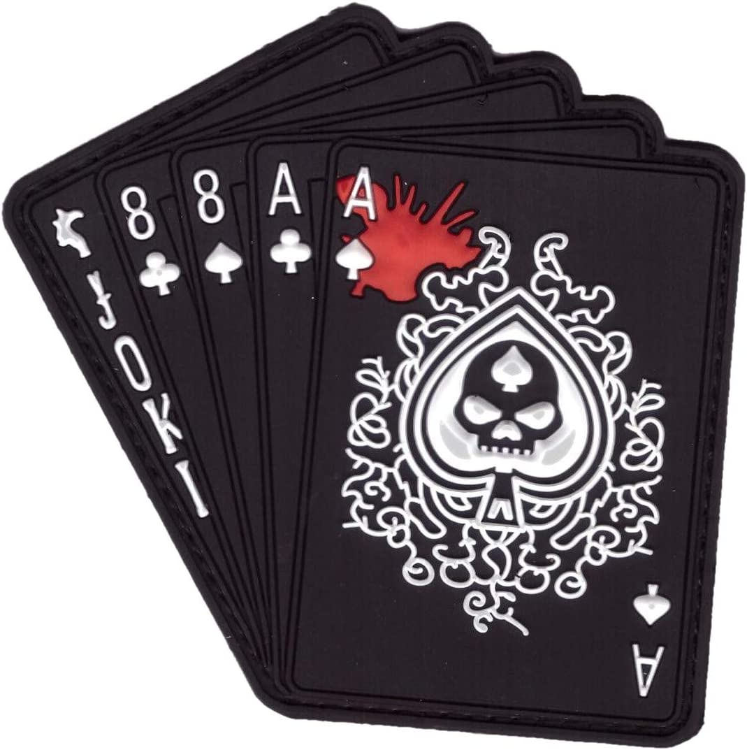 Tactical Punisher Death Card Morale Ace of Spade Patch Titan One Europe