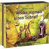 Wecke niemals einen Schrat!: Die Abenteuer von Jannis und Motte. 4 CDs, Laufzeit ca. 4 Std. 49 Min.