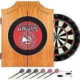 Trademark Games NBA Atlanta Hawks Wood Dart Cabinet Set