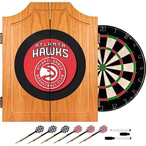 Trademark Games NBA Atlanta Hawks Wood Dart Cabinet Set by Trademark Games