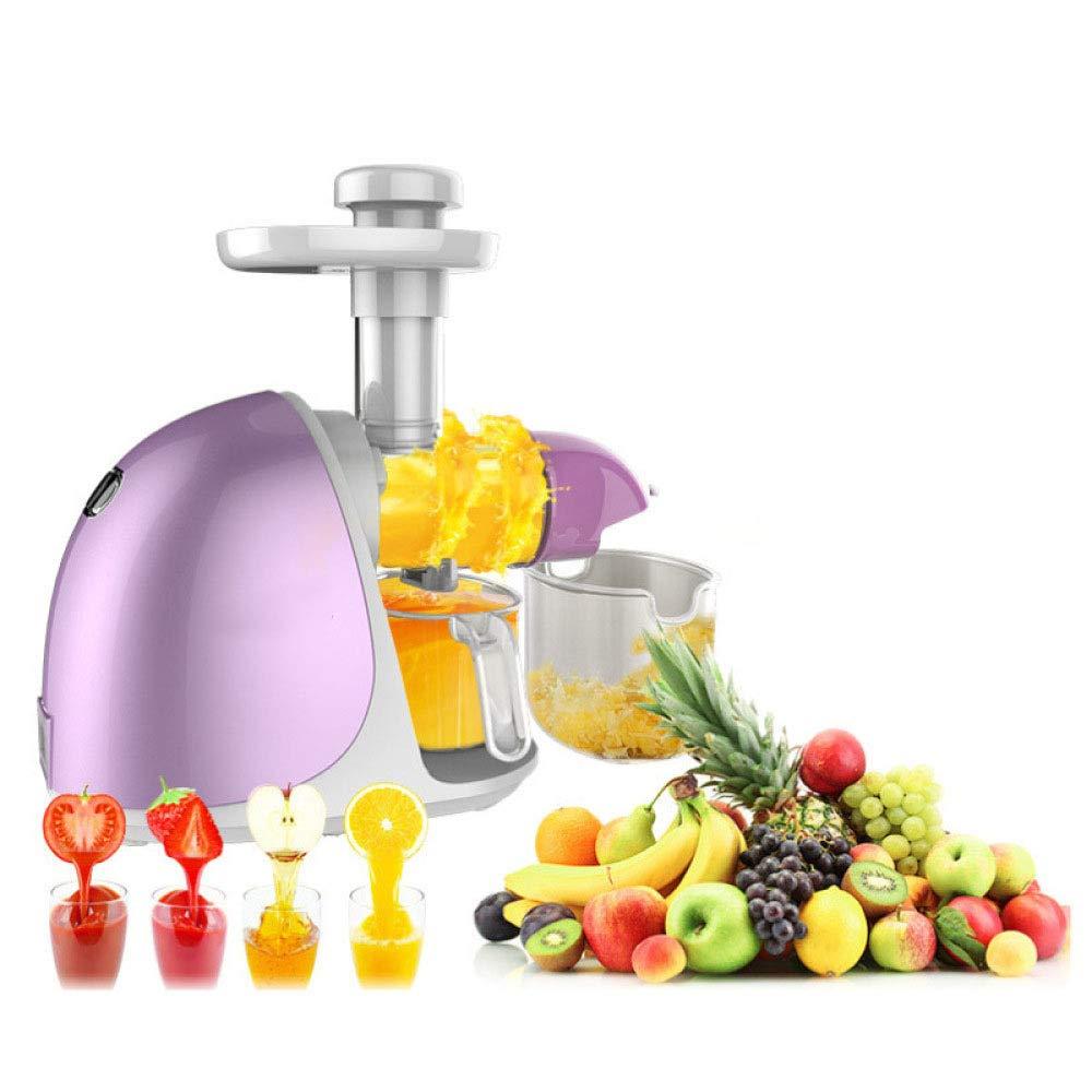 Lxj Exprimidor Jugo Crudo máquina hogar Frutas automáticos y ...