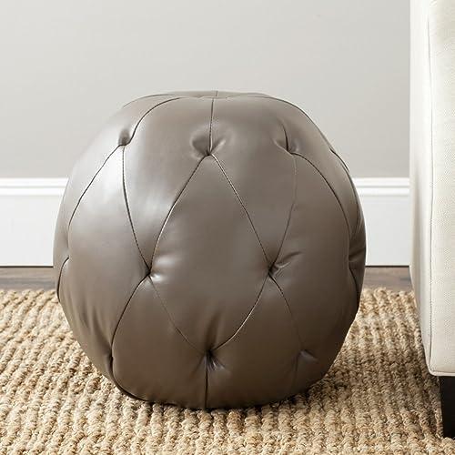 Safavieh Mercer Collection Santiago Ottoman - the best ottoman chair for the money