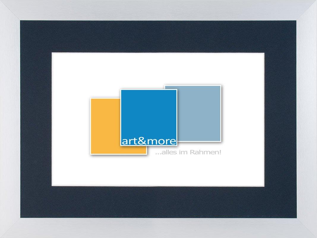 Amazon.de: Bilderrahmen, Alurahmen 30 x 40 cm, 1 Stück, silber matt ...