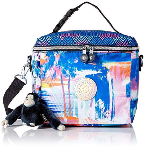 Kipling Graham Printed Prisms Combo Insulated Lunch Box, PRTDPRSMCO